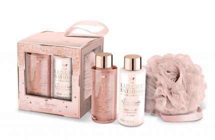GRACE COLE Rosy Treats - 100ml Body Wash, 100ml Body Cream and Body Polisher [GC2002]