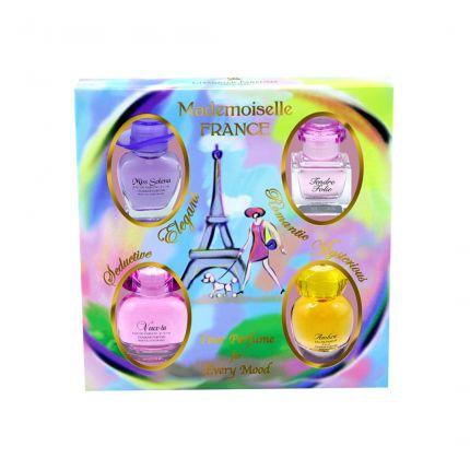 Charrier Parfums CP Mademoiselle France EDP 4pcs [!YC913]