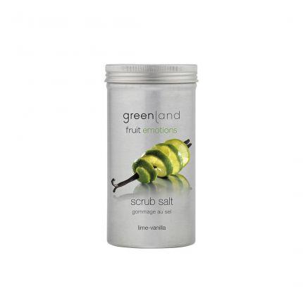 Greenland Lime-Vanilla Scrub Salt 400g [GL8042]