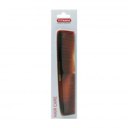 Titania Ladies' Comb 1809/8 19.5cm Big Brown [TTN413]