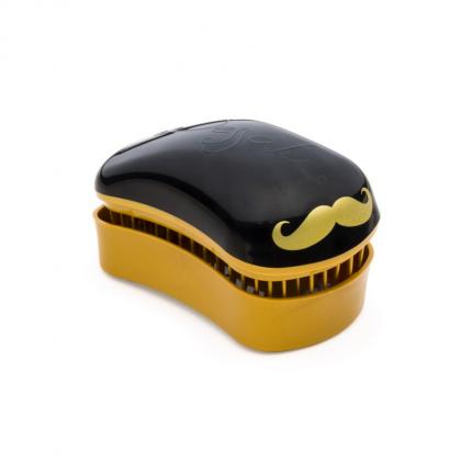 DESSATA Detangling Mini Brush Barber Black-Gold [DES313]