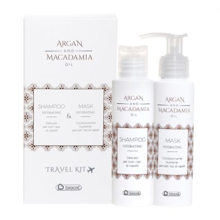 Biacre Argan and Macadamia Oil Travel Kit (Shampoo+Mask) [BC12051]