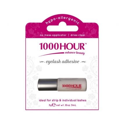 1000 Hour Eyelash Adhesive Glue - Clear 3ml [HR3002]
