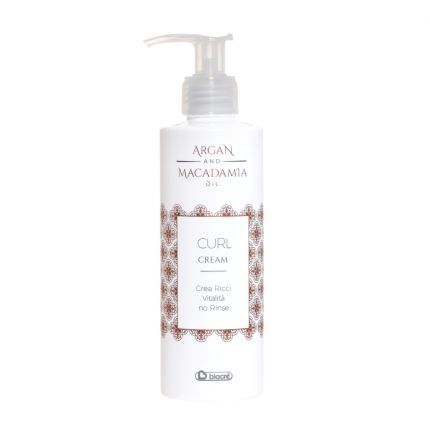 Biacre Argan and Macadamia Oil Curl Cream 200ml [BC1217]