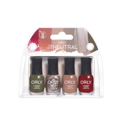 Orly The New Neutral 4pc Mini Pack [OLYP2810000]