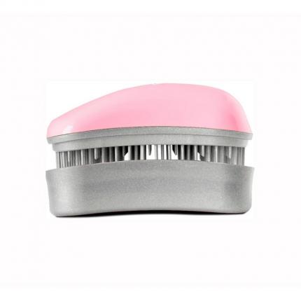 DESSATA Detangling Mini Brush Pink-Silver [DES308]