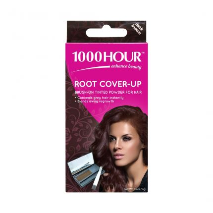 1000 Hour Root Cover-up Dark Brown [HR437]