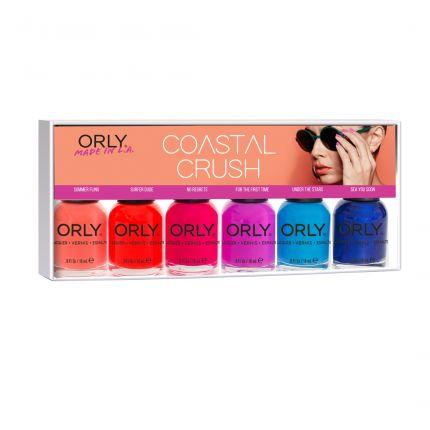 Orly Coastal Crush 6pc Mini Pack [OLC25113]