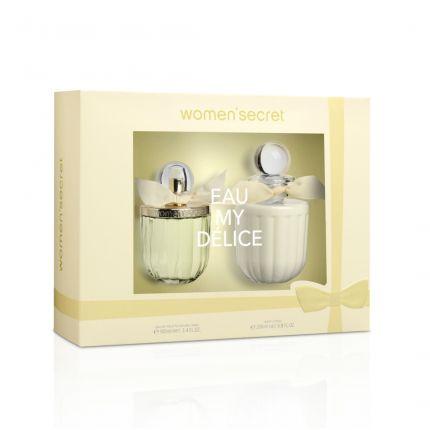 Women Secret Eau My Delice Gift Set Eau De Toilette 100ml + Body Lotion 200ml [YW105]
