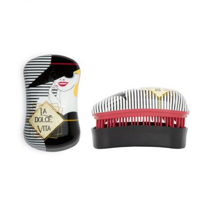 DESSATA Detangling Mini Brush Dolce Vita-Cherry-Black [DES321]