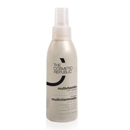 TheCosmeticRepublic Goodbye Baldness Kit Keratin Fiber (Black) + Multivitamin Spray + Revitalizing Vitamin + Keratin Comb [TCR161]