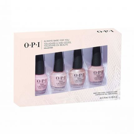 OPI Always Bare For You '19 Nail Lacquer 4pc Mini Pack [OPDDS35]