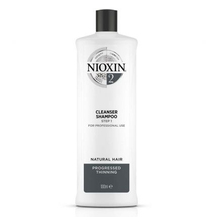 Nioxin System 2 Cleanser Shampoo 1000ml [NXA206]