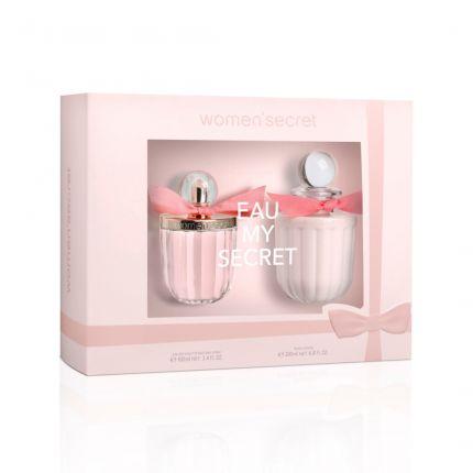 Women Secret EAU MY SECRET Gift Set EDT 100 ml + Body Lotion 200ml [YW104]