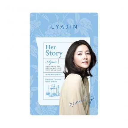 Lyajin Her Story Aqua Hyaluronic Acid Mask Sheet (MOIST) 25ml [LYJ1021]
