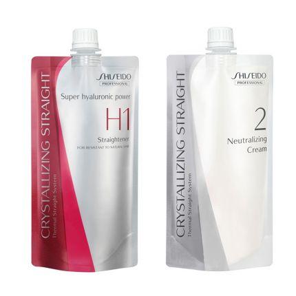 Shiseido Professional Rebonding Crystallizing Straight H1 + 2 for Coarse to Resistant Hair [SHD90]