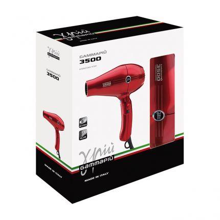 Gamma Piu Professional Hair Dryer 3500 Light Titanium [GMP111]