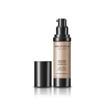 [STOCK CLEARANCE] Mikatvonk Cover Max Hydrating Foundation Dark Beige [MKV823] [Best Before Nov 2020]