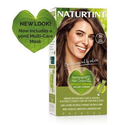 Naturtint Multicare 5G Light Golden Chestnut 165ml [NTN5G]