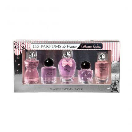 Charrier Parfums Les Parfums De France Collection Fashion EDP 5pc Miniature Set Total 49.7ml [!YC911]