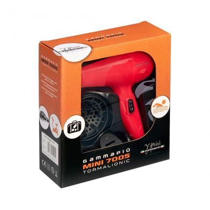 Gamma Piu Professional Mini 7005 Tormalionic Fuxia Hair Dryer [GMP133]