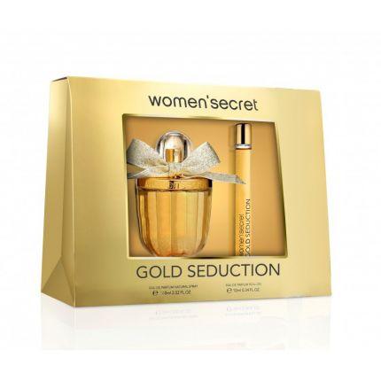 Women Secret Gold Seduction Gift Set EDP+ Roll-on [YW1222]
