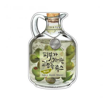 Baviphat Olive Juicy Mask Sheet 23g [SOQUB105]