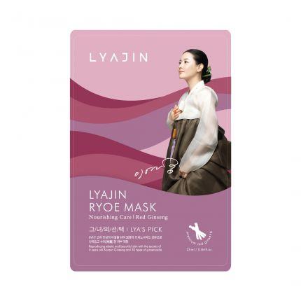 Lyajin Ryoe Red Ginseng Nourishing Mask Sheet 25ml (RED GINSENG) [LYJ1011]