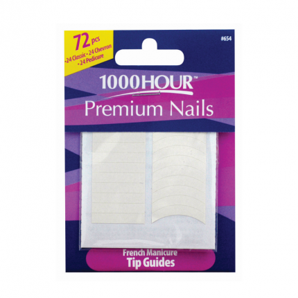 1000 HOUR French Manicure Tip Guides [HR516]
