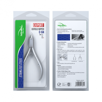 NGHIA Cuticle Nipper (Stainless Steel) [NGHC04]