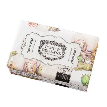 Panier Des Sens Authentic Shea Butter Soap Cotton Flower 200g [PDS807]