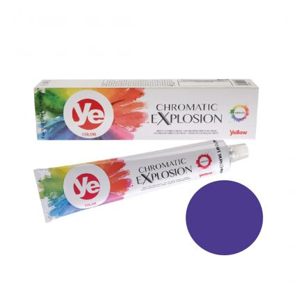 Yellow Color Vibrants Shades Chromatic Explosion Violet 100ml [YEC03]