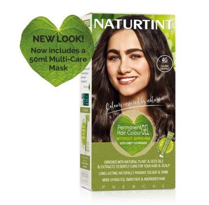Naturtint Multicare 4G Golden Chestnut 165ml [NTN4G]