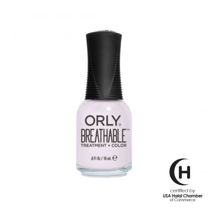 Orly Breathable Treatment + Color Light As A Feather 18ml (Nude Color) (HALAL) [OLB20909]