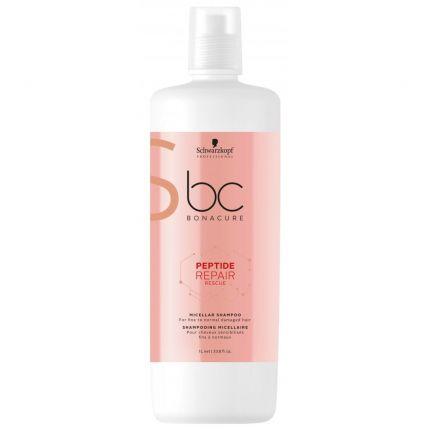 Schwarzkopf BC Peptide Repair Rescue Micellar Shampoo 1000ml [SCA130]