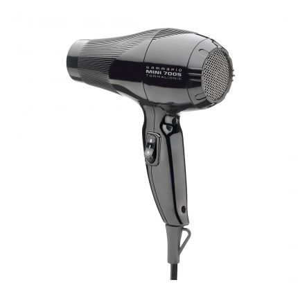 Gamma Piu Professional Mini 7005 Tormalionic Black Hair Dryer [GMP132]