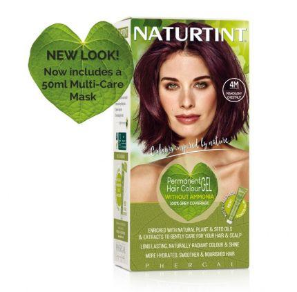 Naturtint Multicare 4m Mahogany Chestnut 165ml [NTN4M]