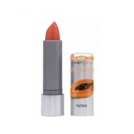 Greenland Nude Papaya Tinted Lip Balm 3.9g [GL314]