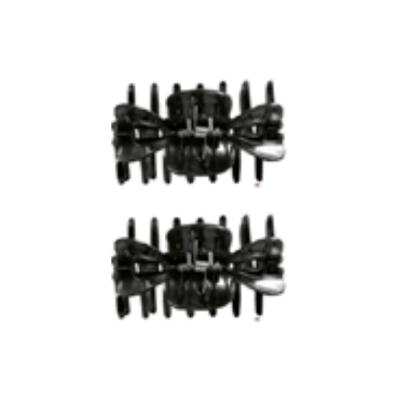 Titania Sectioning Clips - 8021/2B Black  [TTN444]