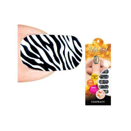 Celeb Beaute Celeb Nail Grevy Zebra [CBN23]