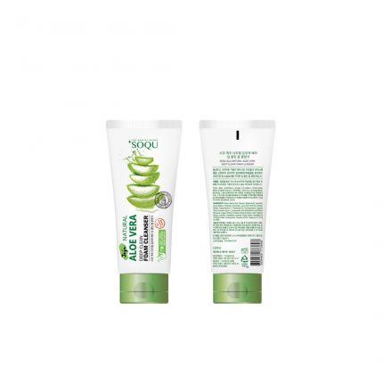 Soqu Jeju Natural Aloe Vera Deep Clean Foam Cleanser 120ml [SOQU103]