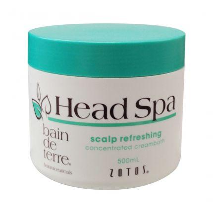 Bain De Terre Head Spa Scalp Refreshing Concentrated Creambath 500ml [BT90]