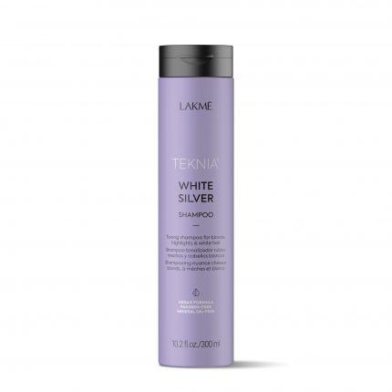 Lakme Teknia White Silver Shampoo 300ml [LMT202]