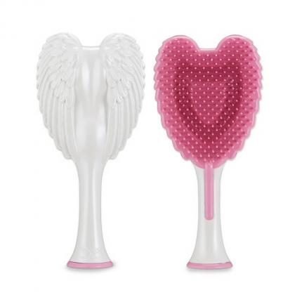 Tangle Angel Cherub 2.0 Detangling Hair Brush - White - Pink [TGA36]