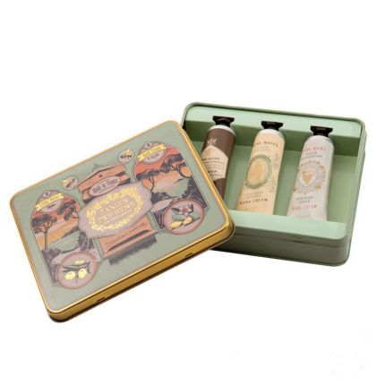 Panier Des Sens Intemporels 3 Hand Creams Gift Set - Honey, Almond & Grapes [PDS951]