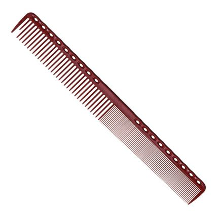 YS Park 331 Fine Cutting Comb (Extra Super Long) - Red [YSP1211]