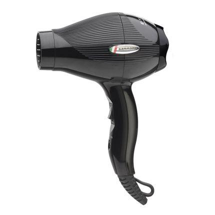 Gamma Piu Professional Hair Dryer E-T.C. Mini Black (Portable) [GMP130]
