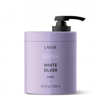 Lakme Teknia White Silver Mask 1000ml [LMT203]