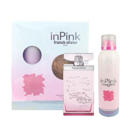 Franck Olivier In Pink Edp Women Gift Set75ml+Deo200ml [YF5391]