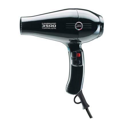 Gamma Piu Professional Hair Dryer 3500 Light Black [GMP110]